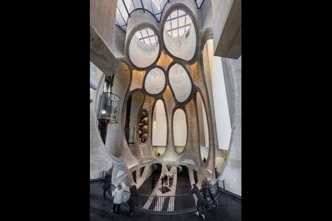 Heatherwick's Zeitz MOCAA - atrium